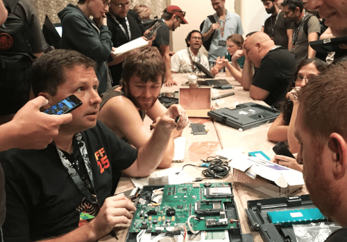 'The bad guys can get in': Hackers at a cybersecurity conference breached dozens of voting machines within minutes