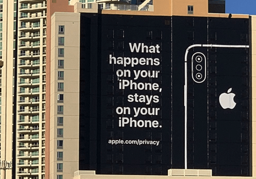 Apple took out a CES ad to troll its competitors over privacy