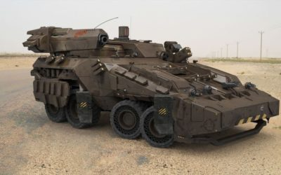 Military Equipment — the Future is On our Door Step